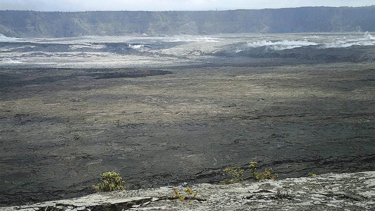 Kīlauea Volcano — Timelapse Changes at Caldera (6/13 - 7/7)