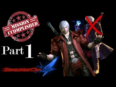 Devil May Cry 4 - How to Play Nero's Missions as Dante Part 1 thumbnail