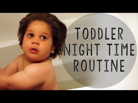 Toddler Bathtime Routine; Hair Washing Routine; Hair Maintenance Routine