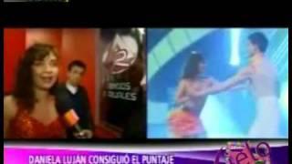 Daniela Luján Consiguio el Puntaje mas Alto de la Noche - AEspectaculos 13/09/2011