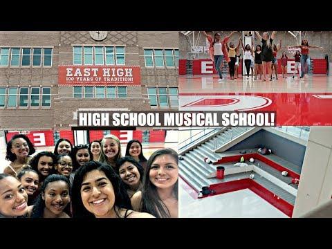 WE TOURED EAST HIGH! (HIGH SCHOOL MUSICAL SCHOOL) UTAH VLOG DAY 2&3