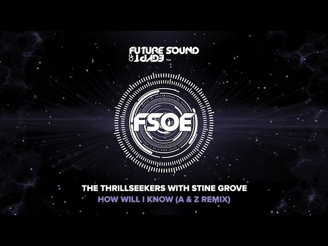 The Thrillseekers with Stine Grove - How Will I Know (A & Z Remix)