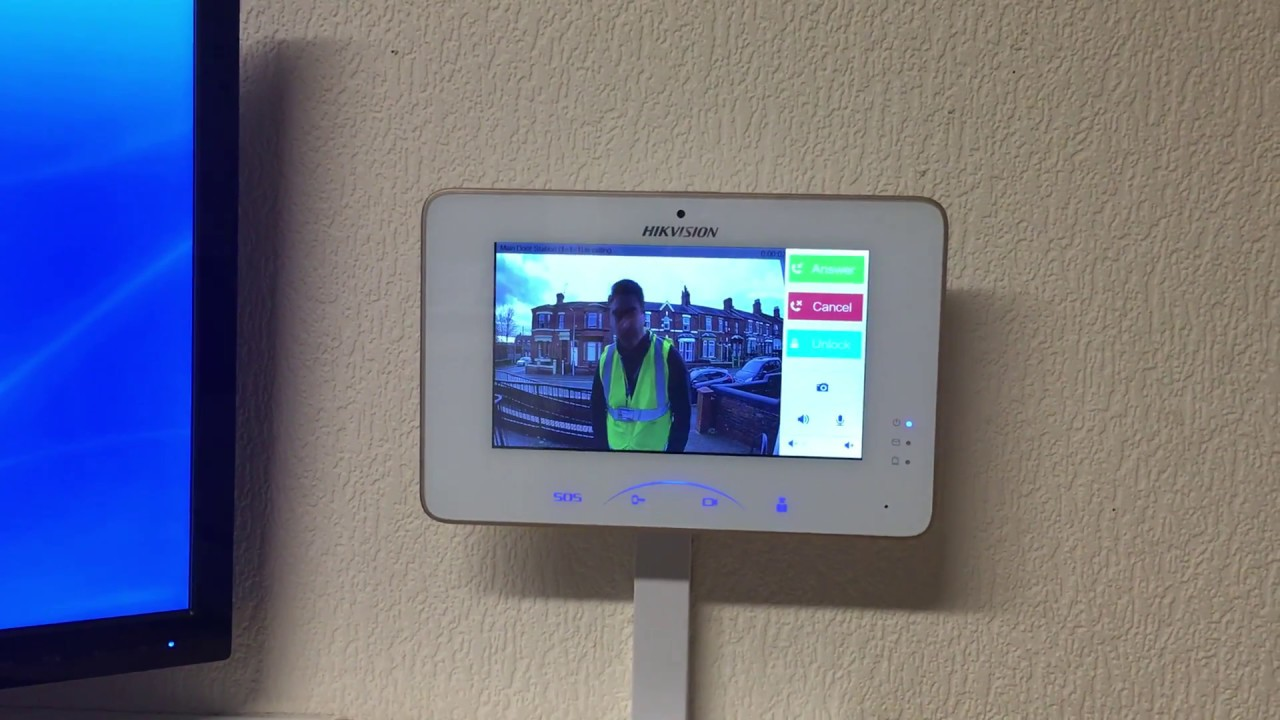 Hikvision Ip Video Intercom Youtube