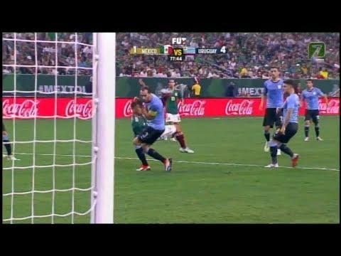 MEXICO VS URUGUAY 1 -  4  Amistoso  07 SEP 2018