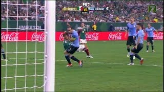 MEXICO VS URUGUAY 1 -  4  Amistoso  07 SEP 2018
