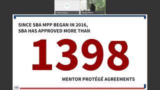 The SBA's All Small Mentor Protégé Program The Basics  - A Maryland PTAC Webinar