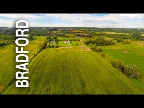 Bradford Real Estate Aerial Video Tour 1137