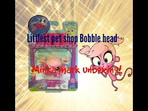 Littlest Pet Shop Bobble Heads Minka Mark Unboxing!