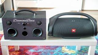 Diamondboxx Model M vs JBL Boombox - indoor comparison