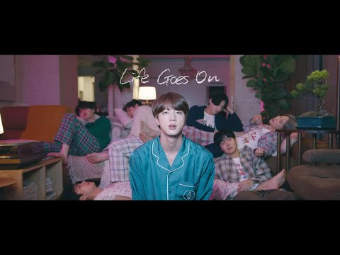 BTS arrasa con su nuevo vídeo Life Goes On