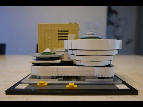 LEGO Architecture 21035 Solomon R. Guggenheim Museum Speed Build