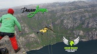 Dream Walker I World Record 980m / 3215ft Norway Kjerag - World's Tallest Dream Jump