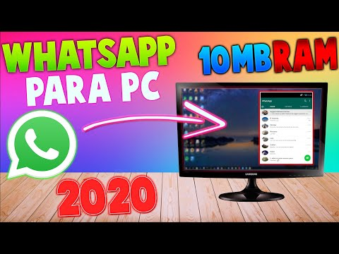Como Tener Whatsapp En PC Sin Teléfono Inteligente 2020   100% Funcional