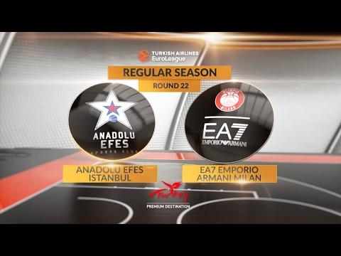Highlights: Anadolu Efes Istanbul-EA7 Emporio Armani Milan