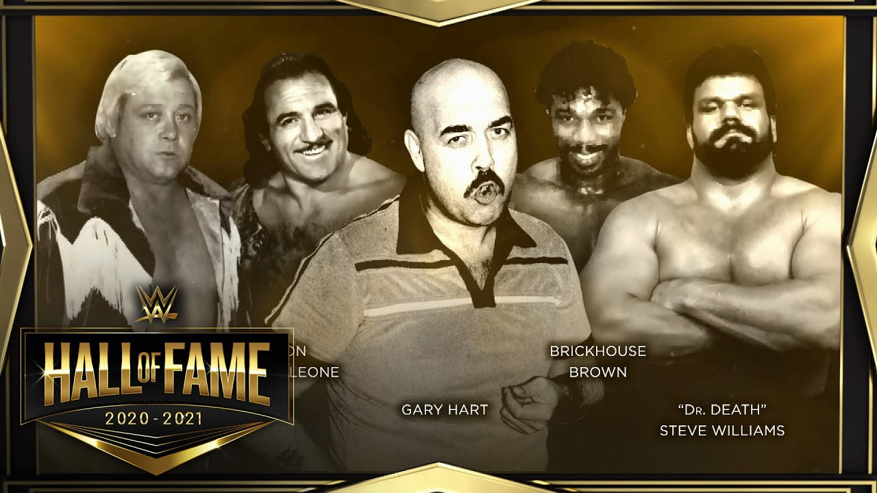 Welcome the newest WWE Hall of Fame Legacy inductees: WWE Hall of Fame 2020
