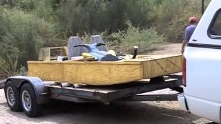 Building A Wooden Jet Jon Boat Part 5