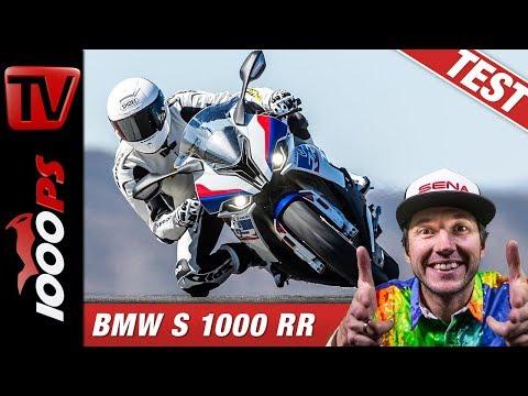 BMW S 1000 RR im Vergleichstest auf der Rennstrecke beim Masterbike 2019