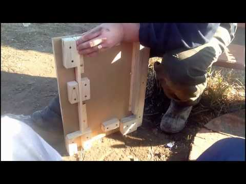 Кондуктор для рамок своими руками видео