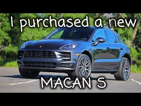 New Car, Porsche Macan S, Quick Look