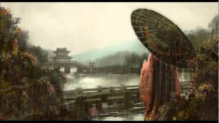 Title: 綠野仙蹤 Played by: 陳悅 Picture: Lovers on a Bridge by haku...