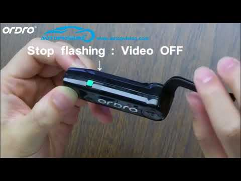 EP3 1080P Full HD Action Wifi Sports Camera Hand Free Bluetooth Headset Video Earphone Camera