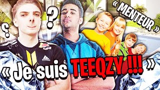 'TROLL' pretending to be TEEQZY on Fortnite...