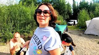 Семейный отдых и рыбалка на реке Черный Июс! часть третья
