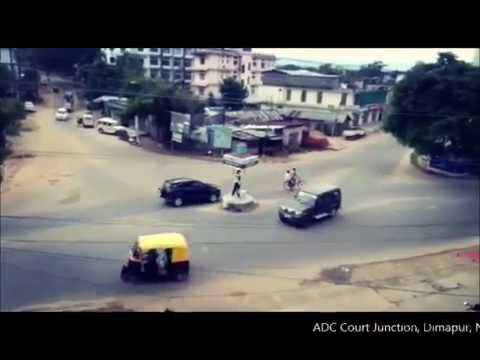 Funny Traffic Policeman in Dimapur Nagaland