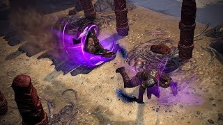 Path of Exile: Purple Whirling Blades
