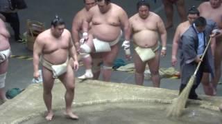 20170503 大相撲夏場所 稽古総見 逸ノ城vs高安など.