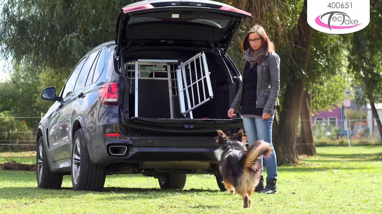 Tectake Transportation Dog Crate Youtube