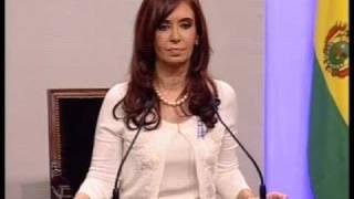 Bicentenario 25 de mayo 2010. Discurso de la Presidenta Cristina Fernández
