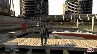 Grand Theft Auto V - Franklin Free Roam Gameplay #1 [2k]