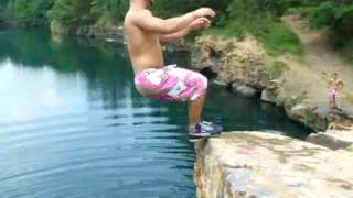 Repeat youtube video Cliff Jump Accident