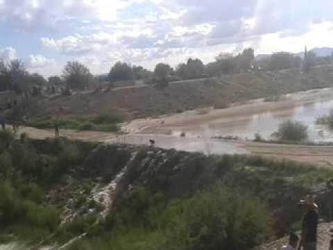 Rio Nazas cascada en ej  Zaragoza en San Pedro Coahuila