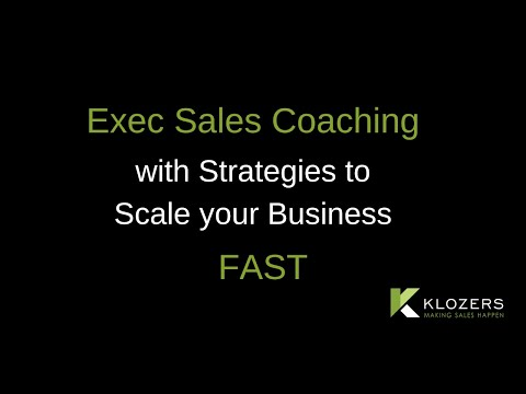 Exec Sales Coaching