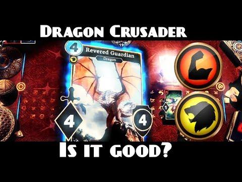 Download Mid Range Dragon Crusader   Moons of Elsweyr - Elder Scrolls Legends
