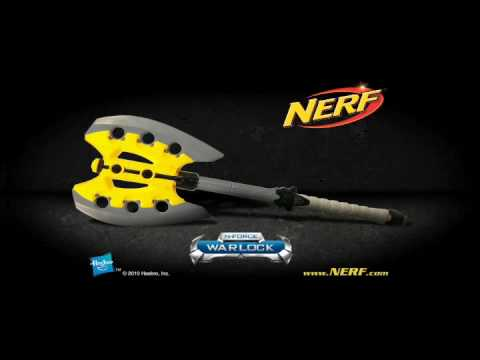 nerf nforce warlock battle axe werbespot youtube
