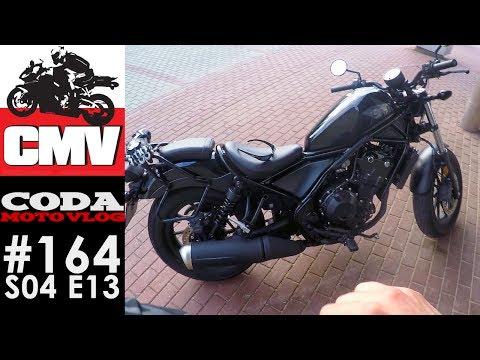 CMV#164: Honda CMX500 Rebel - pierwsza jazda - CODA MV