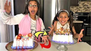 Cake Switch Up Challenge!!