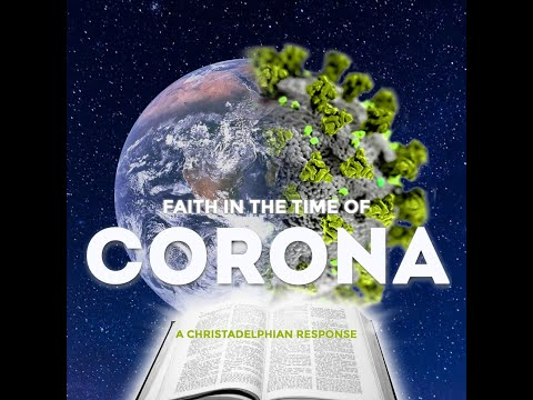 Live webinar! Faith in the time of Corona
