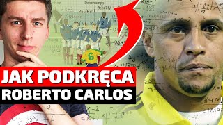 Jak podkręcał piłkę ROBERTO CARLOS