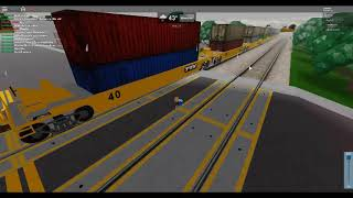 railfanning in roblox part 3 but this time its csx