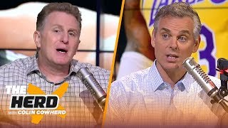 Michael Rapaport on LeBron's preseason, Odell's comments, Conor vs Khabib | THE HERD