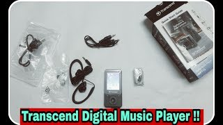 Transcend Digital Music Player !! Is it the best digital music player till now !!