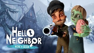 TATLI ZOMBİLER STAGE 4 SONU! | Hello Neighbor Hide & Seek