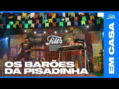 OS BARÕES DA PISADINHA - Batom De Ouro (Ao Vivo) | Filtr Brasil