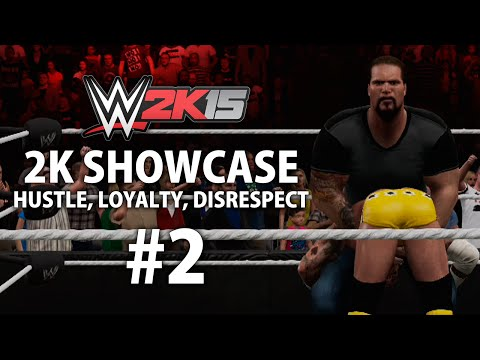 WWE 2K15 (Xbox One) 2K Showcase - Hustle, Loyalty, Disrespect Gameplay Walkthrough Part 2