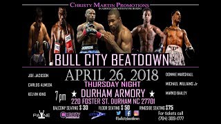 Christy Martin Promotions and LDLTV 4/26/18 thumbnail