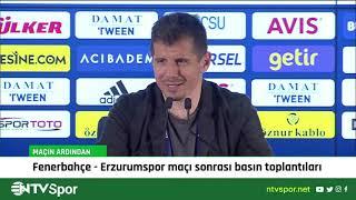 Fenerbahçe - Erzurumspor maçı sonrası Emre Belözoğlu ve Yılmaz Vural basın toplantısı